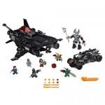 Flying Fox: Atacul aerian cu Batmobilul LEGO Superheroes