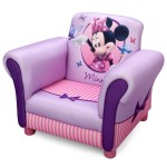 Fotoliu cu cadru din lemn Disney Minnie Mouse