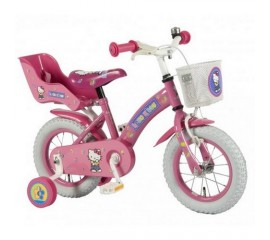Bicicleta copii E&L Hello Kitty 12 inch