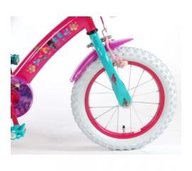Bicicleta copii E&L Trolls 14 inch