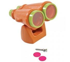 Binoclu portocaliu/lime - Binoclu pentru copii