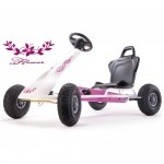 Kart cu pedale Air-Racer Flower