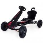 Kart cu pedale Air Racer negru