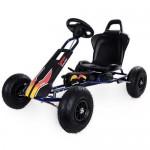 Kart cu pedale Air Runner Negru
