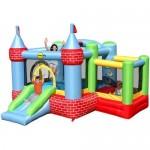 Saltea gonflabila Castel cu loc de joaca