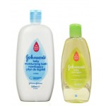 Johnsons Baby Sampon Copii 200 ML + Spumant de Baie 500 ML