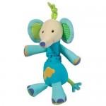 Jucarie muzicala Elefantel - Brevi Soft Toys BV166361