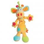 Jucarie muzicala Girafa - Brevi Soft Toys BV166316