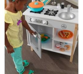 Bucatarie pentru copii cu accesorii All Time Play Kitchen - KidKraft