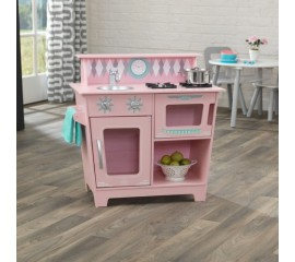 Bucatarie pentru copii KidKraft Classic Kitchenette - Pink