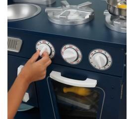 Bucatarie pentru copii KidKraft Vintage Kitchen - Navy