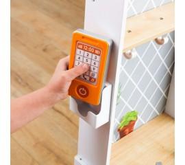 Bucatarie pentru copii KidKraft - Let's Cook Wooden Play Kitchen