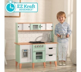 Bucatarie copii Mid-Century Modern Play Kitchen - KidKraft