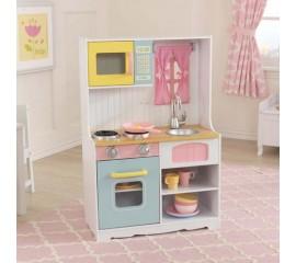 Bucatarie pentru copii Pastel Country Play Kitchen - KidKraft