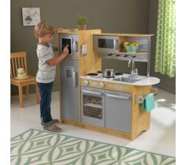 Bucatarie pentru copii Uptown Natural - KidKraft