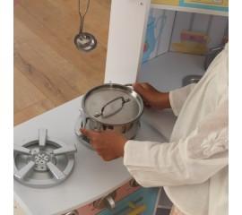 Bucatarie copii de colt Deluxe Corner Play - KidKraft