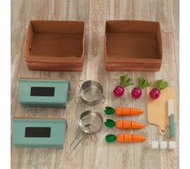 Bucatarie copii cu accesorii Farm To Table Play Kitchen - KidKraft