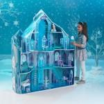 Casuta pentru papusi Castelul Disney Frozen Fulg de Nea