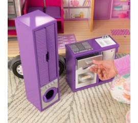 Casuta pentru papusi pe roti Teeny House - KidKraft