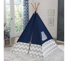 Cort de camera pentru copii Teepee Navy - KidKraft
