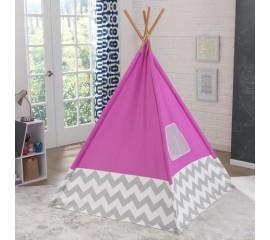 Cort de camera pentru copii Teepee Pink - KidKraft
