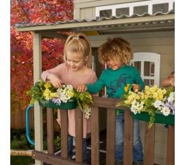 Casuta de joaca din lemn Cozy Escape Playhouse (FSC) - KidKraft