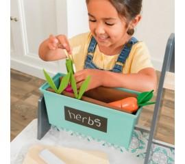 Bucatarie pentru copii cu lumini si sunete Garden Gourmet - KidKraft
