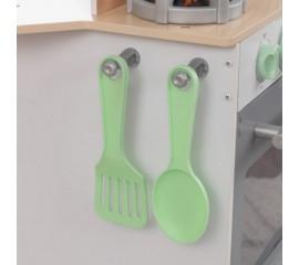 Bucatarie pentru copii si Spalatorie 2 in 1 cu accesorii - KidKraft