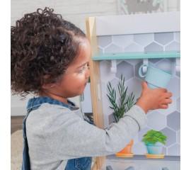 Bucatarie pentru copii KidKraft - Let's Cook Play Kitchen - Natural