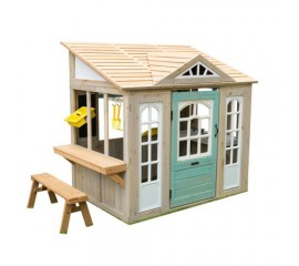 Casuta de joaca din lemn - Meadowlane Market - KidKraft