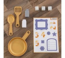 Bucatarie pentru copii Mosaic Magnetic Play Kitchen - KidKraft