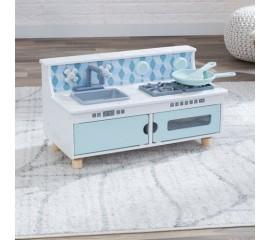 Bucatarie pentru copii Play & Put Away Wooden Kitchen - KidKraft