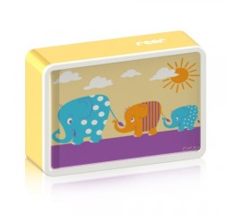 "Lampa de veghe cu led si senzor de lumina BabyLight Basic ""Elefant"""
