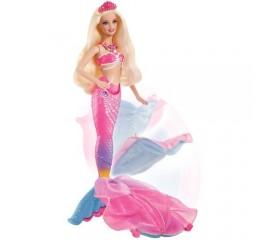 Barbie Printesa Perlelor - Sirena Lumina