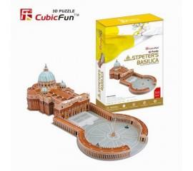 Basilica Sf Petru Vatican - Puzzle 3D - 144 de piese