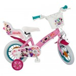 """Bicicleta 12"""" Minnie Mouse Club House, pentru fete"""