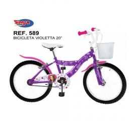 "Bicicleta copii 20"" Violeta"