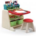 Birou pentru copii Flip & Doodlle Easel Desk NEW