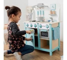 Bucatarie Bon appetit Deluxe Albastru - Bucatarie pentru copii