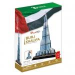 Burj Khalifa Dubai - Puzzle 3D - 136 de piese