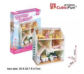 Casa de vis a papusilor - Puzzle 3D - 160 de piese