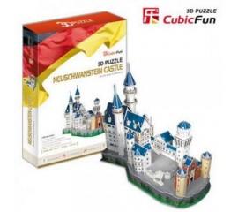 Castelul Neuschwanstein Germania - Puzzle 3D - 98 de piese