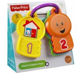 Chei pentru numarat si explorat Fisher Price
