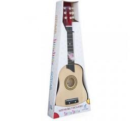 Chitara lemn copii 64 cm. - Lemn natur - Chitara Luxe