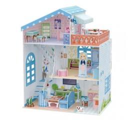 Colectia Casuta papusilor - Vila de la mare - Puzzle 3D