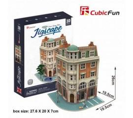 Colectia Jigscape - Banca - Puzzle 3D - 94 de piese