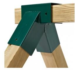 Coltar forma patrata, unghi drept - Verde