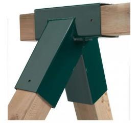 Coltar forma patrata, unghi oblic - Verde