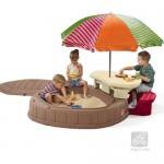 Cutie de nisip cu capac - Summertime Playcenter New