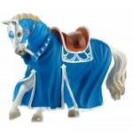 Figurina Cal pentru turnir albastru